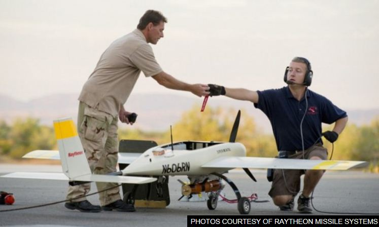 Desert Aircraft engine powers new Raytheon UAV