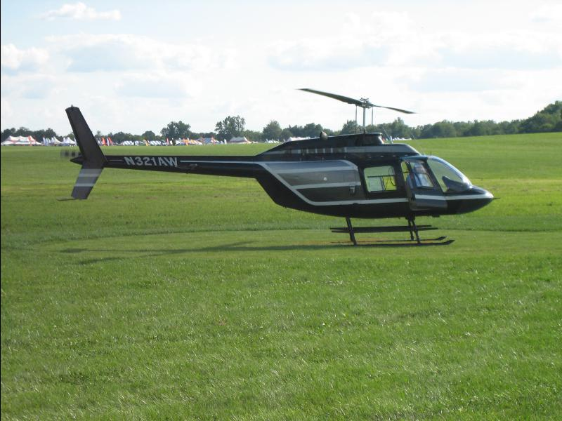 IRCHA Full Scale Helicopter Rides