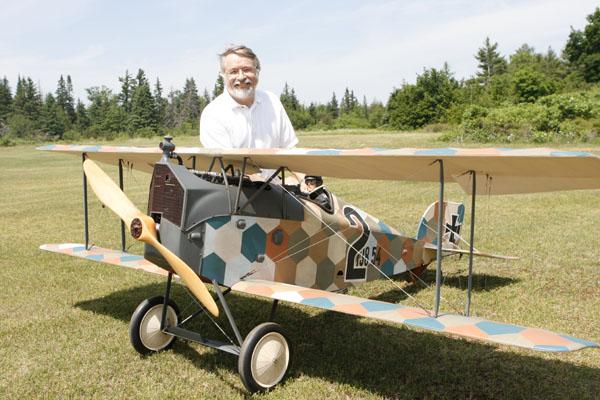 Martin Irvine's 1917 Aviatik D1