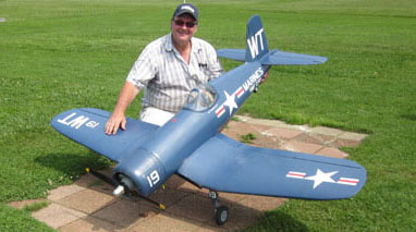 Blast from the Past! Top Flite Giant Scale F4U Corsair with test flight video
