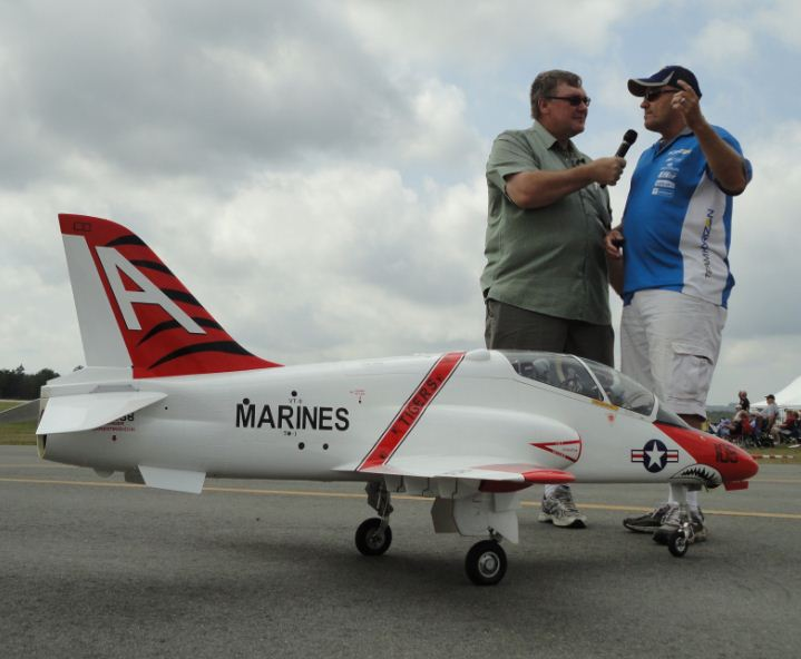 Chatting with Mike McConville at the US Air Meet