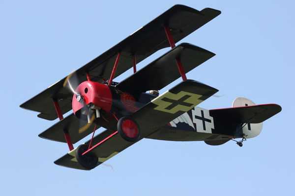 45% Fokker Triplane Monster