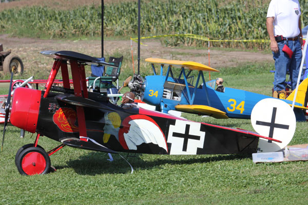 RC Monster Scale 45% Fokker Triplane