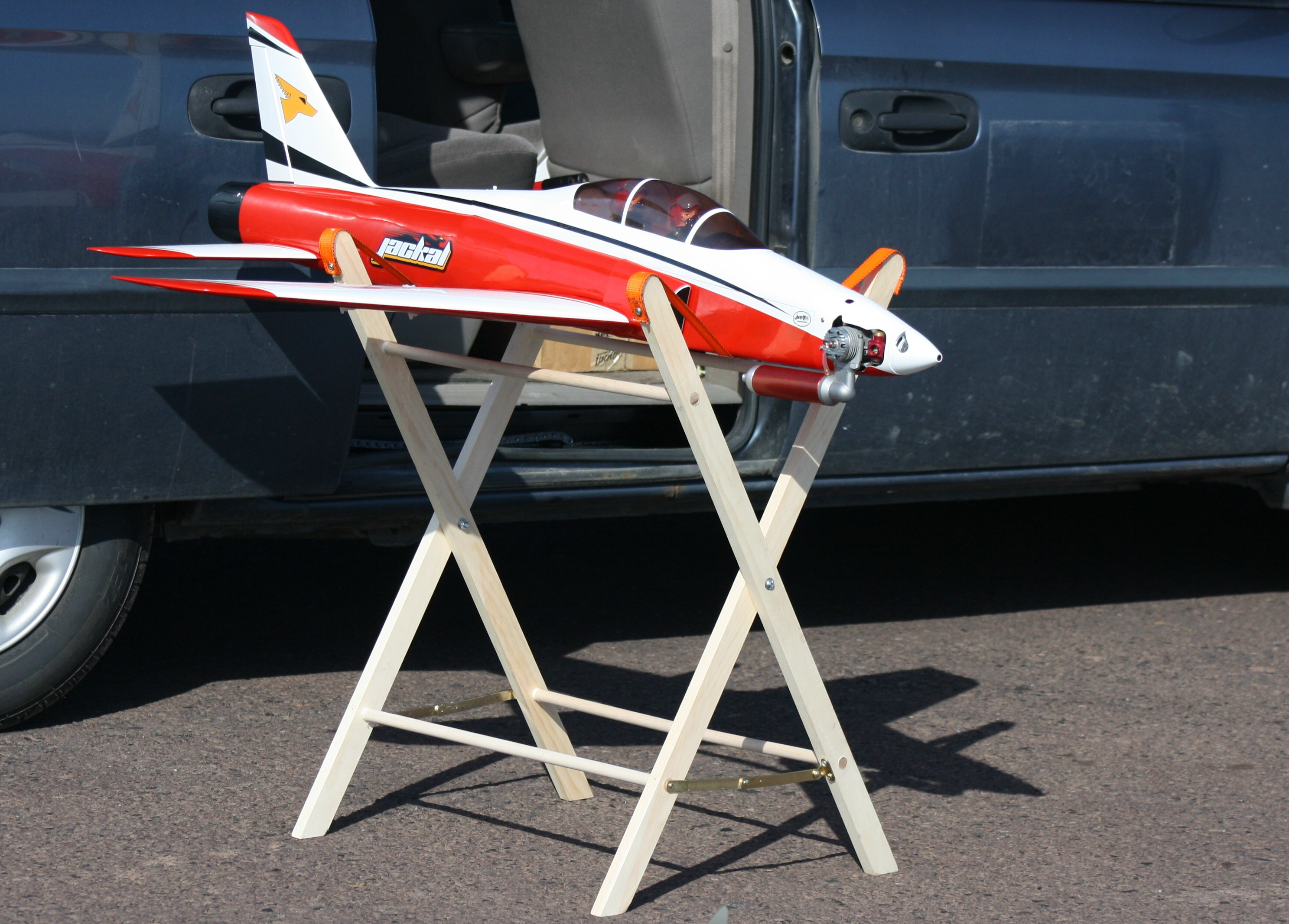 Build A Stand For Your Rc Model Model Airplane News