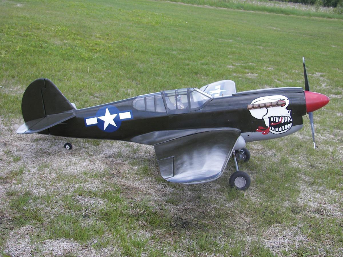 Pilot Projects: Burma Banshee P-40 [November]