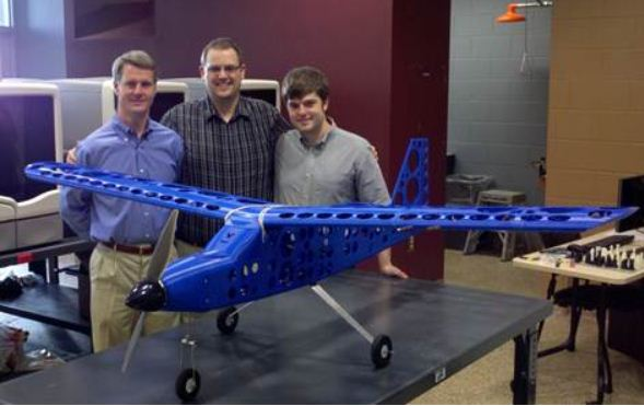 3D Printed Plane Takes Off