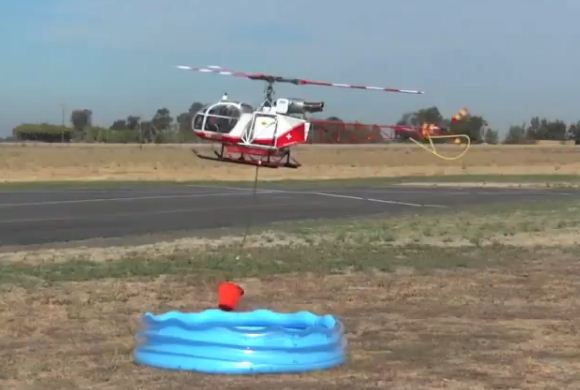 "Pilot test: ""Bambi Bucket"" Competition"
