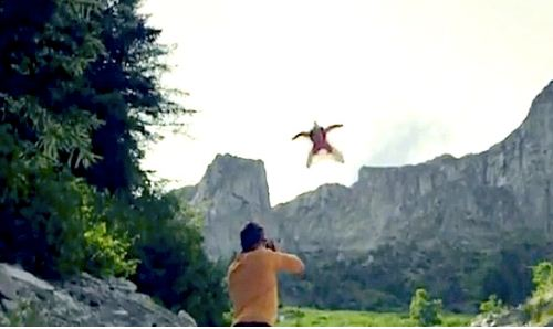 Wingsuits: true first-person flying!