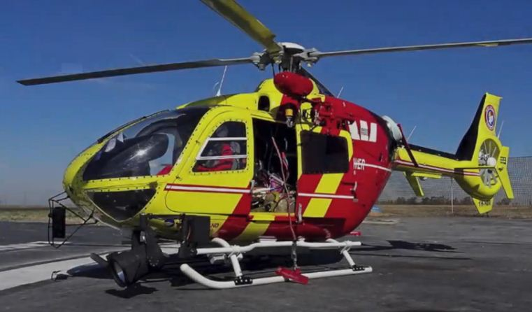 Turbine-powered EC135