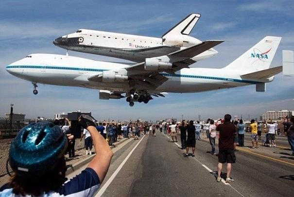 Just too cool, the Endeavour Landing