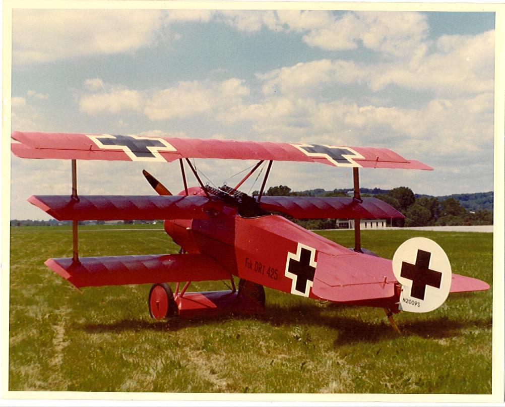 Seven Fokker Dr.1 Triplanes of Jasta 11 (Full Size)