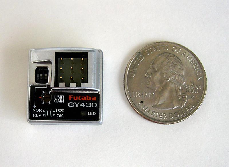 Futaba GY430 Gyro
