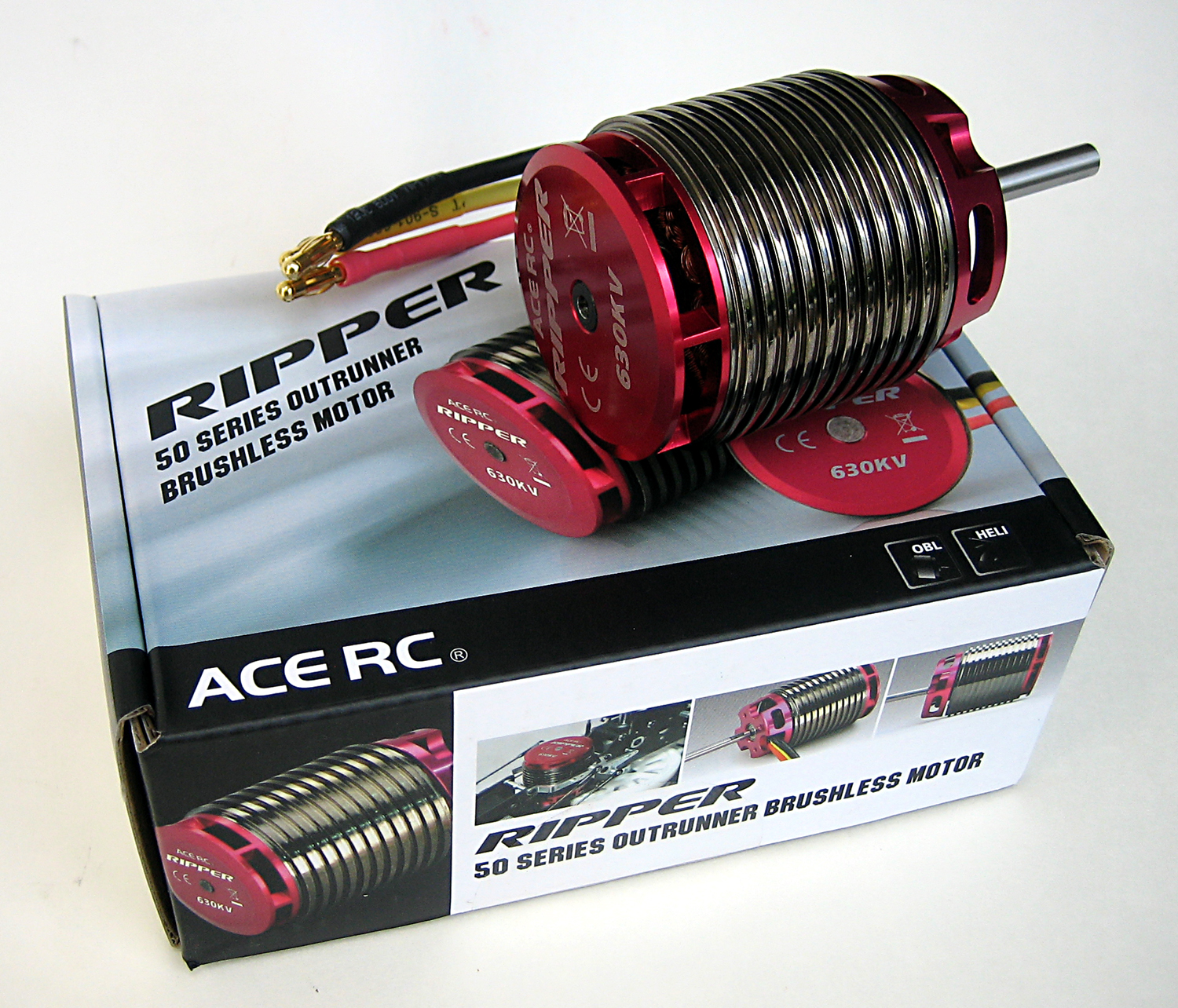 RIPPER OBL 44/49/50 Series Helicopter Brushless Motors