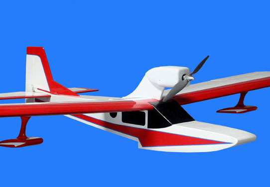 Alien Aircraft — Super Dragon Seaplane