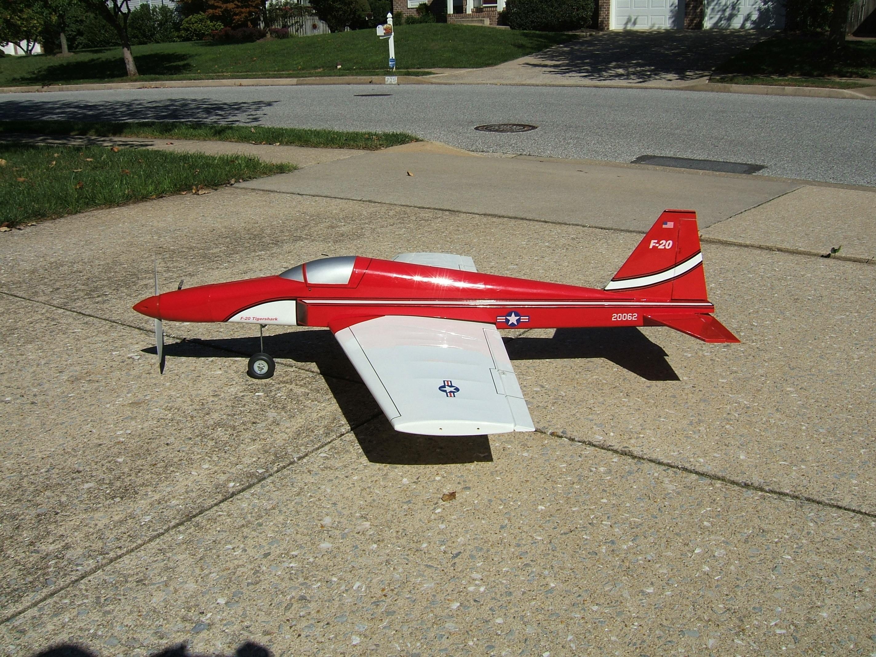 F-20 Tigershark Makeover - Model Airplane News
