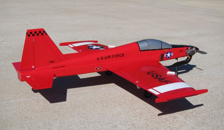 F-20 Tigershark Makeover - Model Airplane News