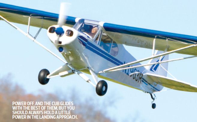 Hangar 9 1/4-scale Super Cub–Sneak Peek!