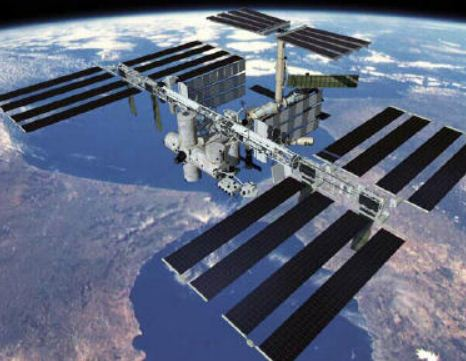 See the Space Station without a telescope