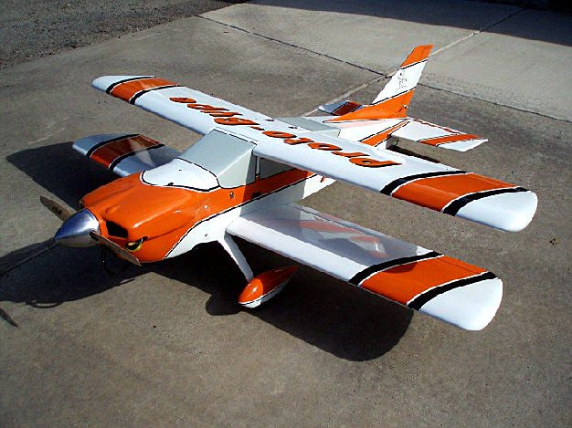 Build an Easy-to-Assemble Sport Biplane