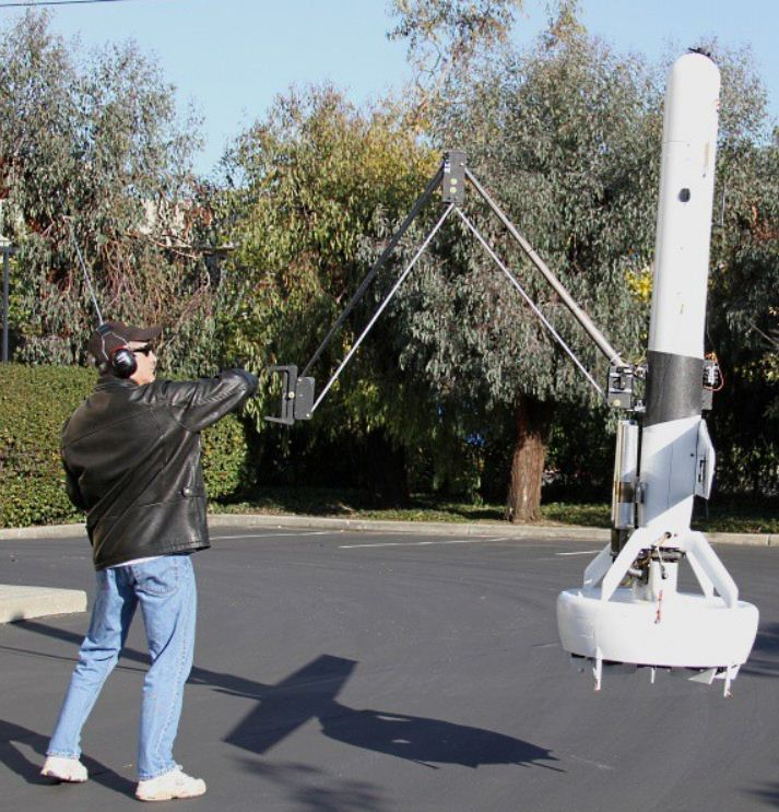 A UAV equipped with an arm!