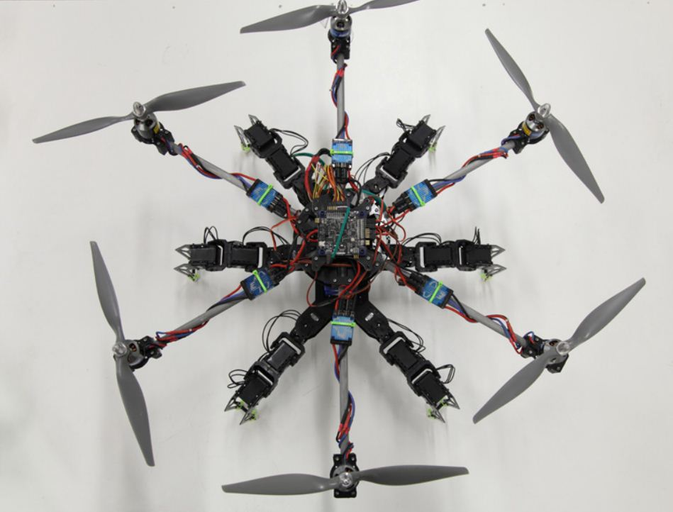 Meet Hexapod, the walking, flying robot