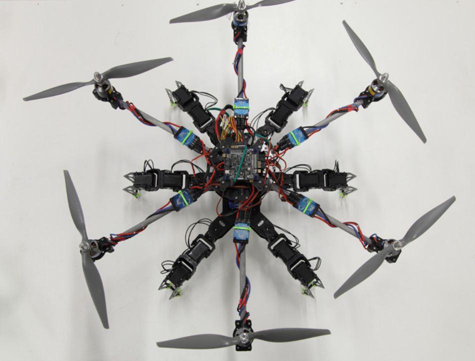 Meet Hexapod, the walking, flying robot