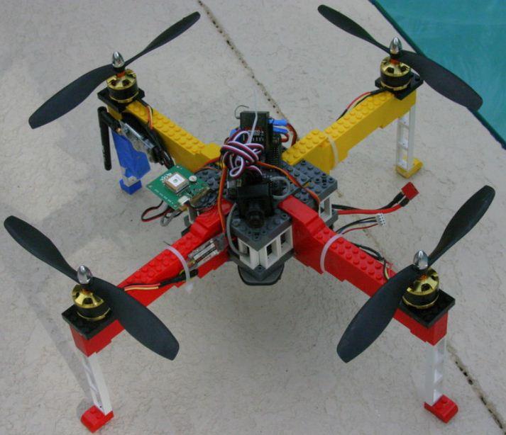 LEGO DRONE!