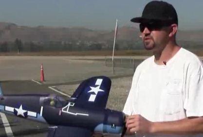 ParkZone Corsair [VIDEO]