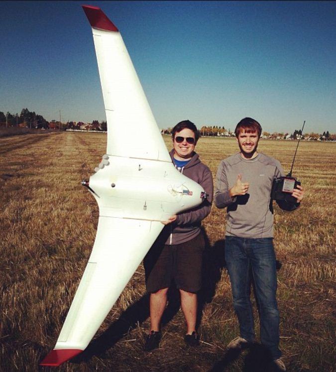 """""""Burrito Bomber"""" UAV delivers dinner!"""