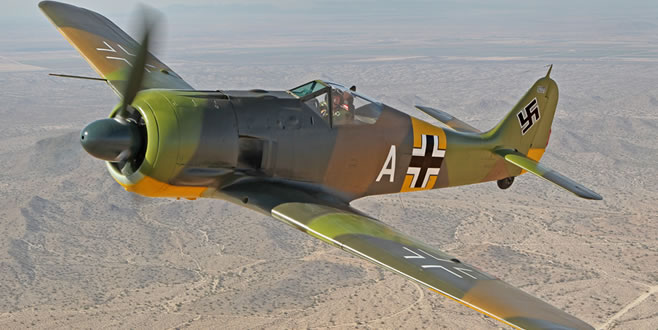Flying Fw 190A-5; Saga of a survivor