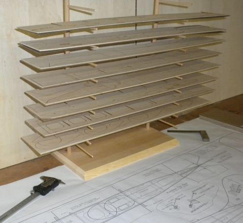 DIY Balsa Rack