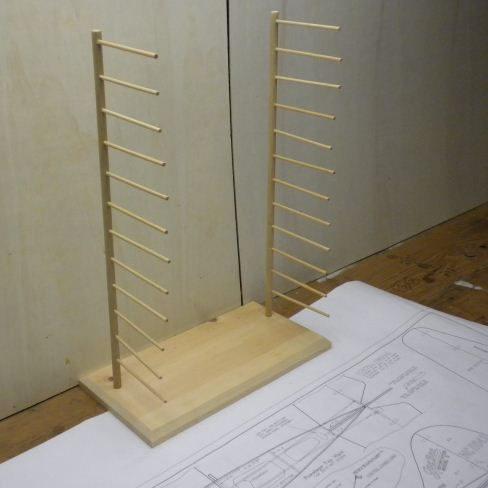 Balsa Rack DIY
