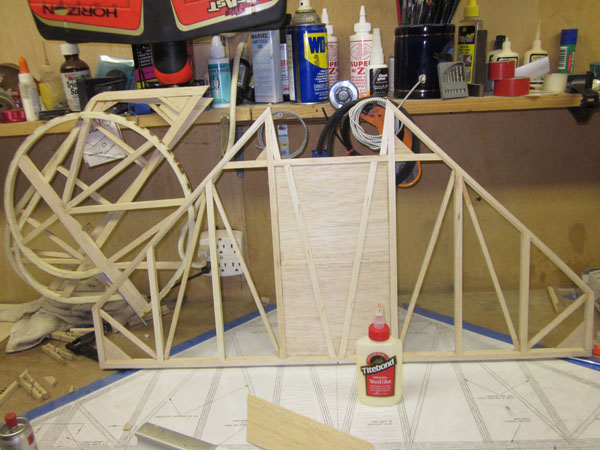 How To: Fokker Triplane fuselage