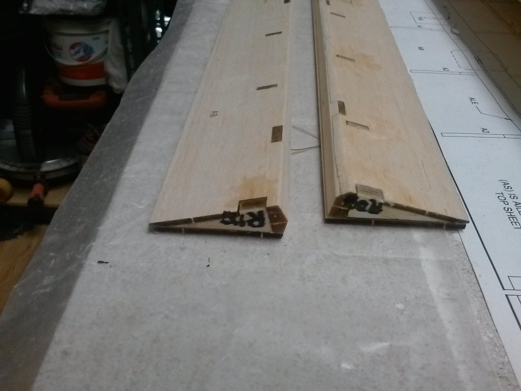 flap and ailerons