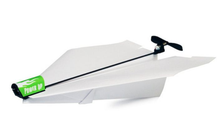 Smartphone-controlled paper airplane!