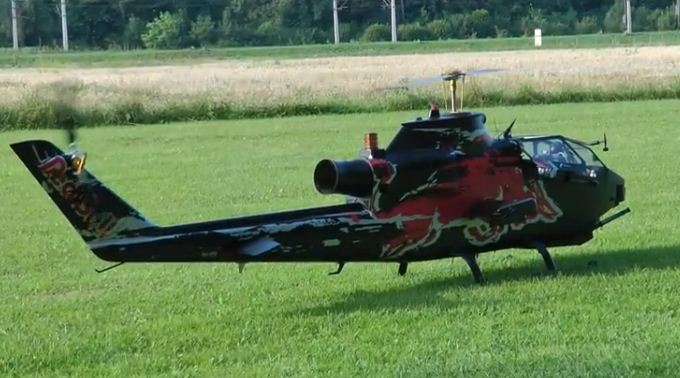 Red Bull Cobra Turbine Heli