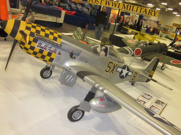 "P-51D Mustang ""Double Trouble"" WRAM Show"