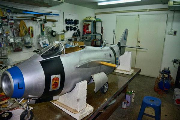 Swedish J-29F Tunnan