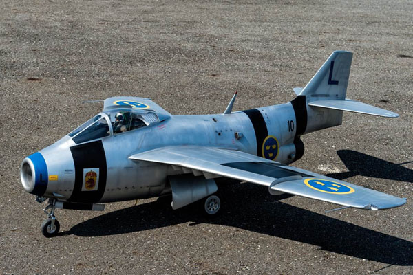 Swedish J-29F Tunnan