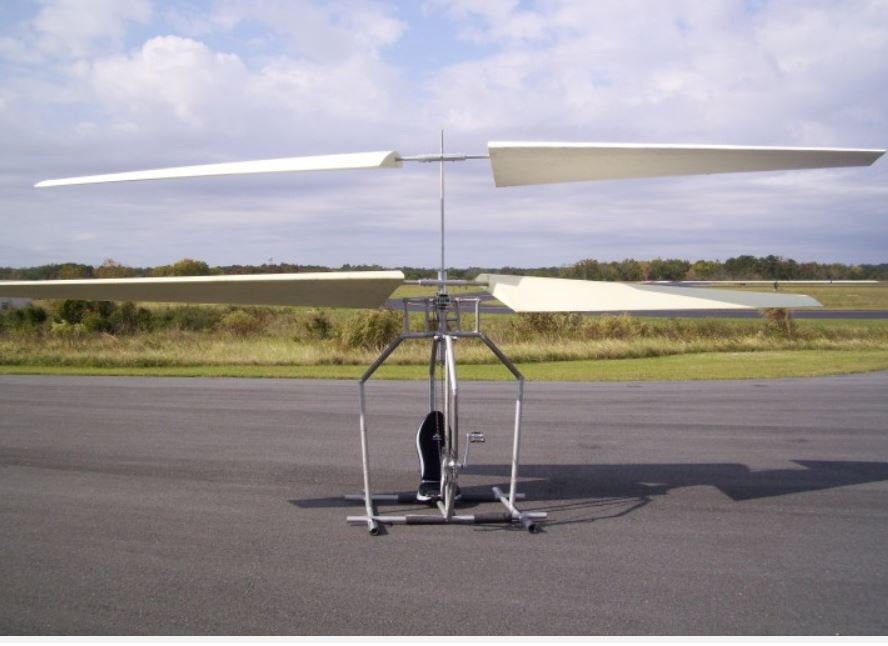 New human-powered helicopter design