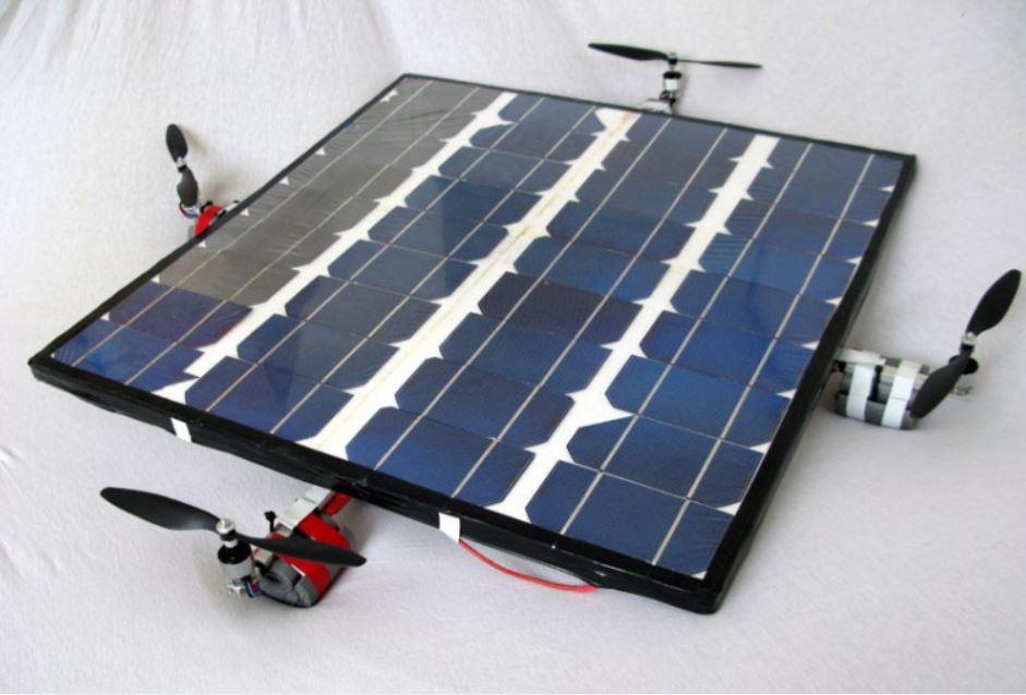 Solar-powered quadcopter!