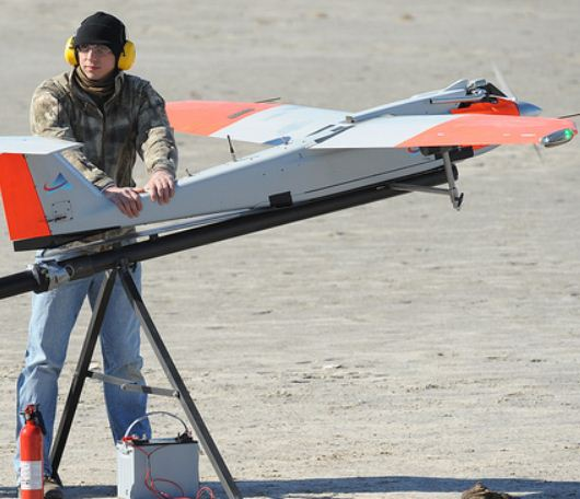 Texas A&M's First Drone Mission over Gulf