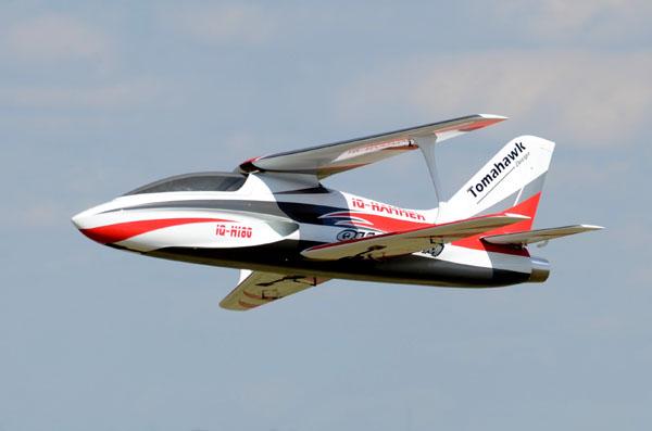 turbine-powered Biplane