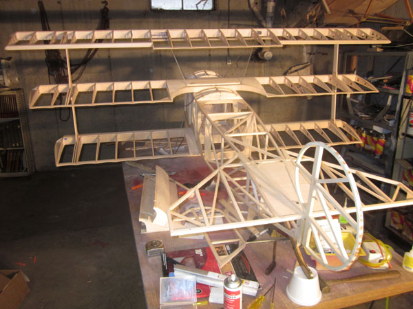 Workshop Build-Along — Triplane Interplane Struts