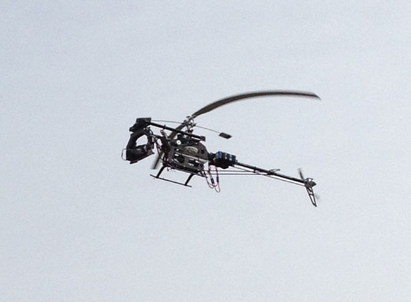 Stephen Born Combines two of His Passions; RC Aerial Photography