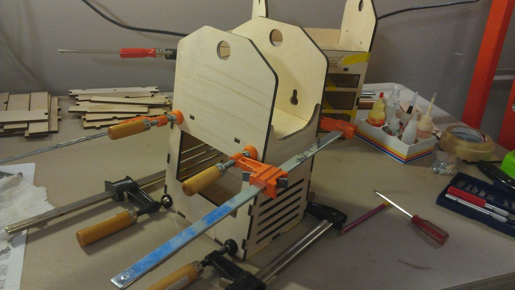 Remote box clamps