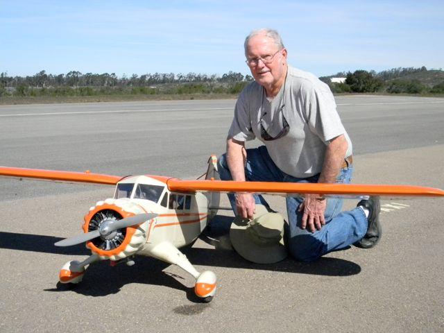 Stinson SR-5E  & Ron Peterka