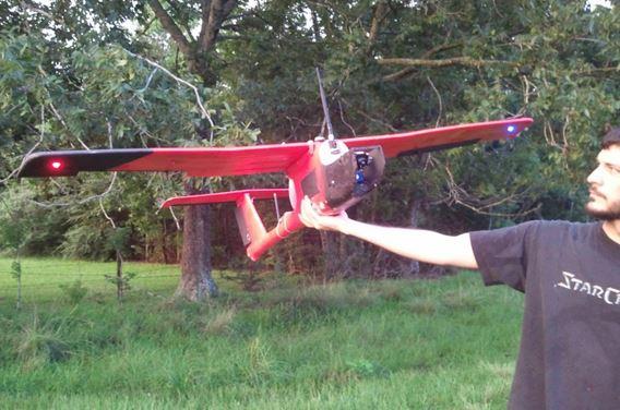 Dehogiflier: pig-hunting drone
