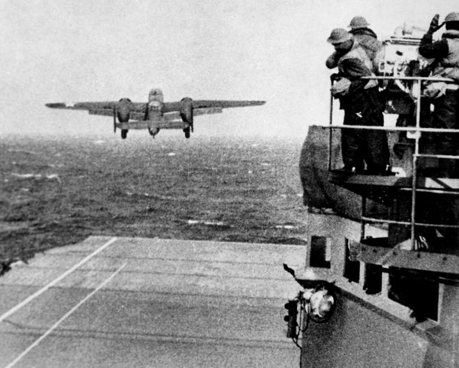 Today in Aviation History: 74 years ago today, we salute the Doolittle Raiders
