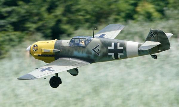 Last Mission for this Messerschmitt